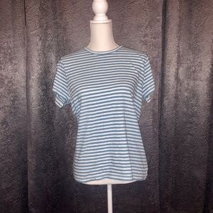 2/$10 J. by J.crew striped studio T shirt